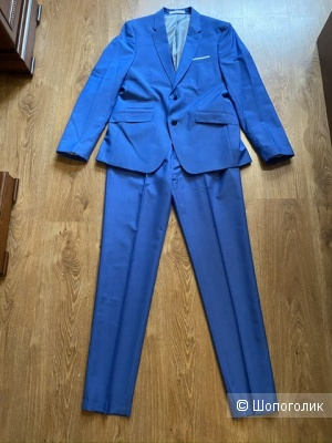 Мужской костюм Zara, размер EUR 42