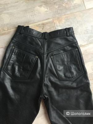 Кожаные брюки Raberg, 28 размер, S/M