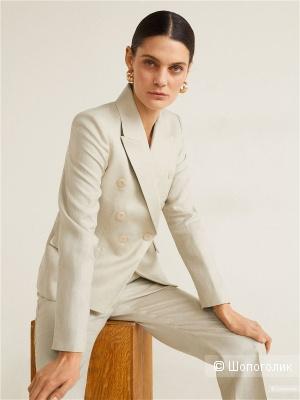 Пиджак 100% лен, mango, размер М