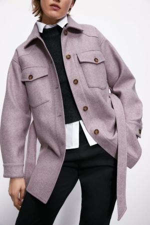 Куртка рубашка Zara, L