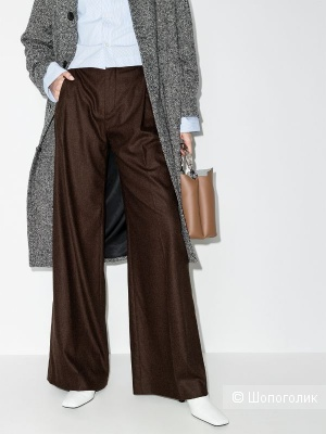 Шерстяные брюки rene lezard, размер 48/50