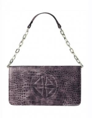 Кожаный клатч/сумка-багет APART, one size