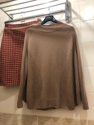 Кашемировый свитер WHITE. Размер М-L.