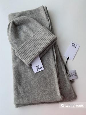 Комплект Шарф + шапка, one size