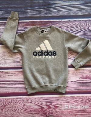 Мужской утеплённый свитшот Adidas р.S, XL
