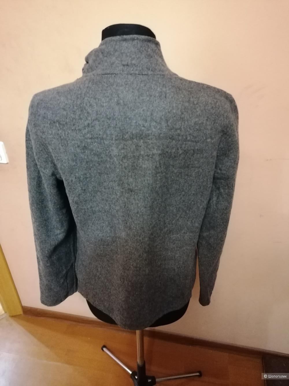 Шерстяная рубашка жакет Etcetera размер 46-48
