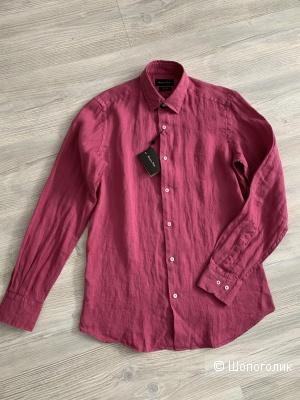 Рубашка льняная Massimo Dutti, р.44/46 рос.