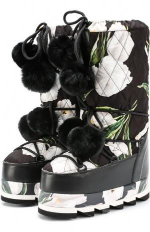 Сапоги-Луноходы Dolce&Gabbana, 39,5 - 40