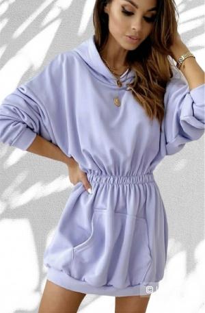 Туника платье трикотаж Violette, 42-48
