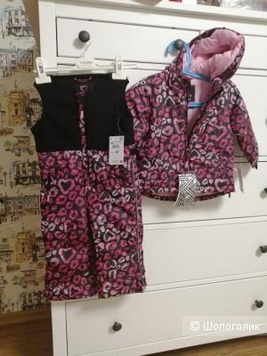 Теплый костюм для девочки Rezerved 9-12 месяцев