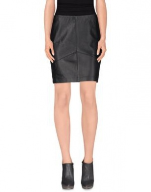 Кожаная юбка Pinko Tag, размер 46 IT (48 RU). На рос. 44-46