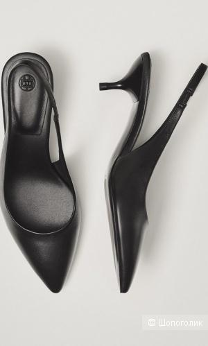 Туфли кожаные Massimo Dutti, р.36