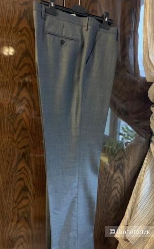 Брюки мужские BROGGI, Италия. 52-54 размер. 100% тончайшая шерсть. Классика.