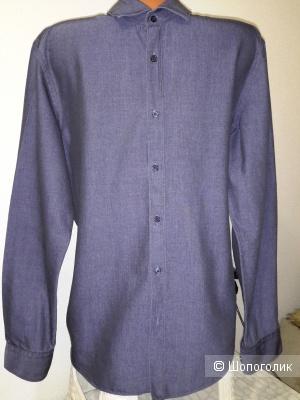 Мужская рубашка HUGO BOSS, размер 44/46