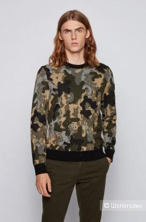 Шерстяной свитер Hugo Boss р. L