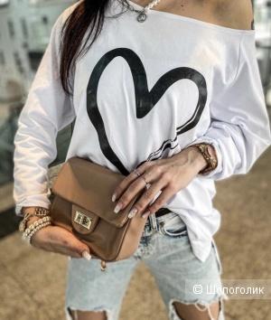 Блуза лонгслив Heart, 42-52