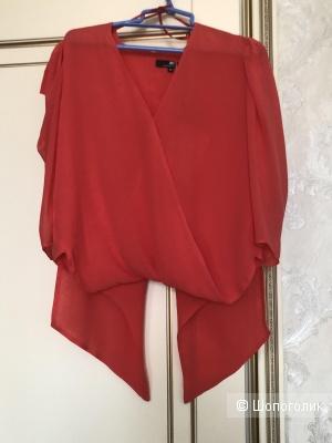 Шелковая блузка  ELISABETTA FRANCHI, р. 44-46
