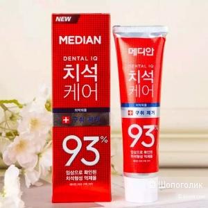 Зубная паста для интенсивного удаления зубного камня ( AMORE PACIFIC) MEDIAN MAX 93% Toothpaste, 120г