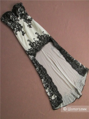 Платье с кружевом, Dating Day, размер xs