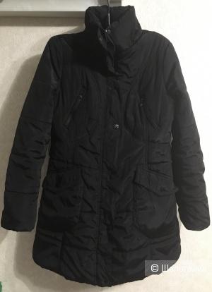 Пуховик длинная куртка Moncler,  размер L 48