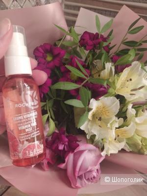 "Yves Rocher   Освежающий спрей для лица ""Розовый Грейпфрут"",  50 мл"