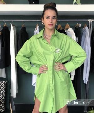 Платье рубашка LUMINA,44-54