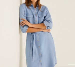 Платье-рубашка MANGO на 44-46 размер