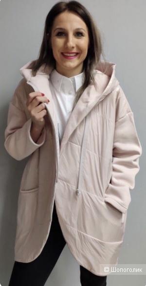 Куртка кардиган утепленная флис Manilla, 44-52