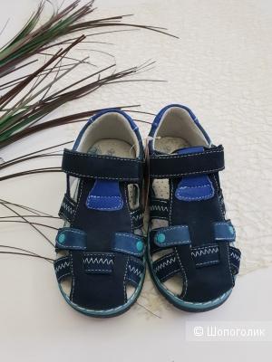 Кожаные сандали на мальчика размер 26