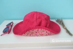 Сет - двухсторонняя панама-шляпа Verbaudet и солнцезащитные очки Mango kids на  5-7 лет