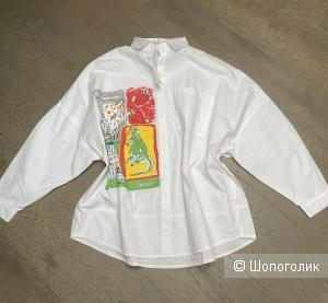Рубашка блуза Gucci Square , 44-50