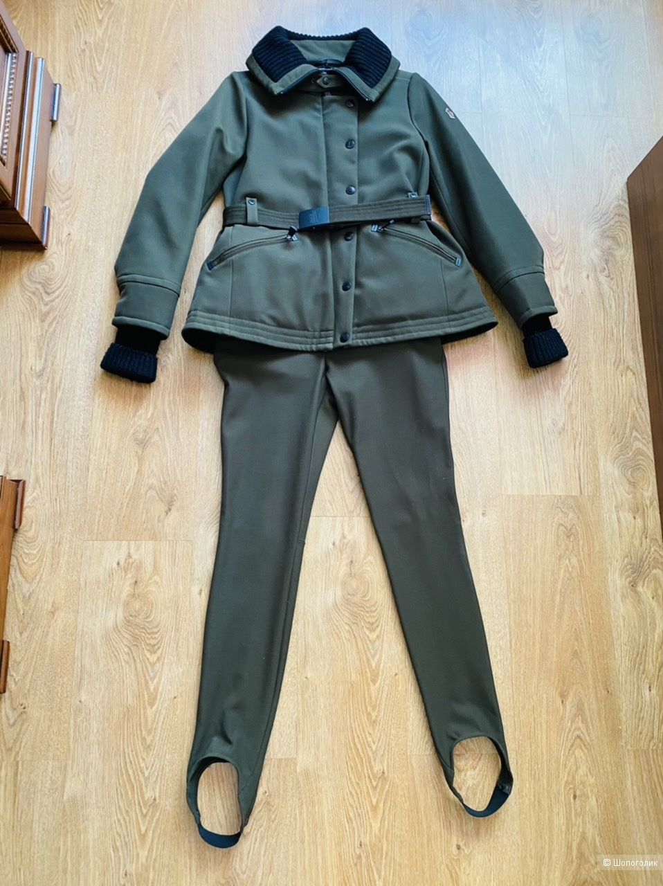 Горнолыжный костюм Moncler, размер 1