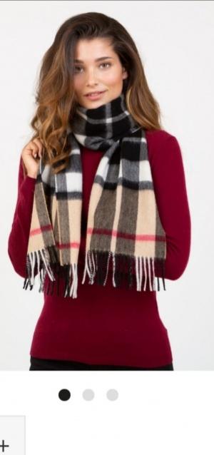 Шерстяной шарф  KILTANE размер 26*160
