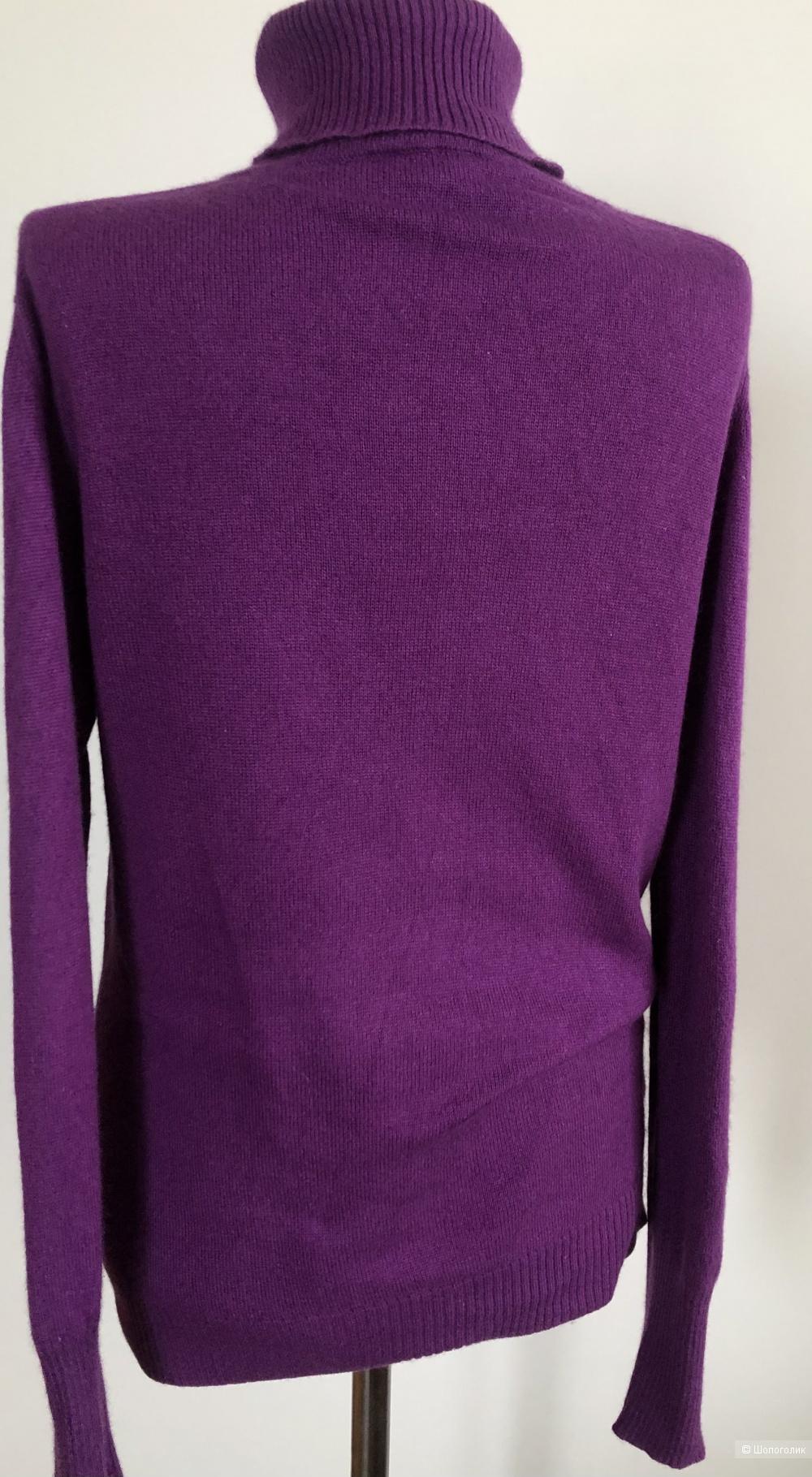 Кашемировый свитер Аdagio размер производителя 42 ( на 48 российский)