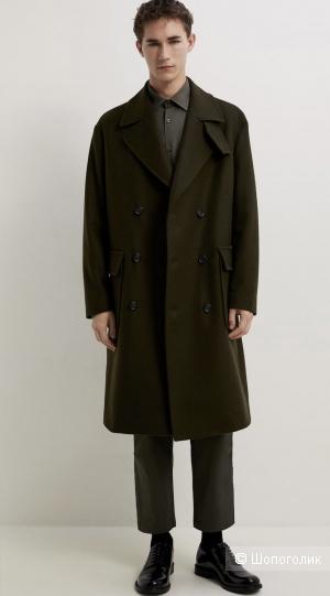 Пальто Zara размер 50