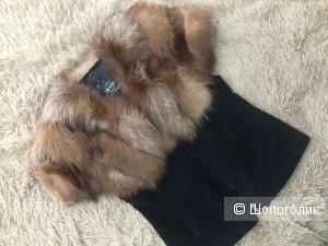 Жилет из меха лисы Fur Natural, р. 44-46