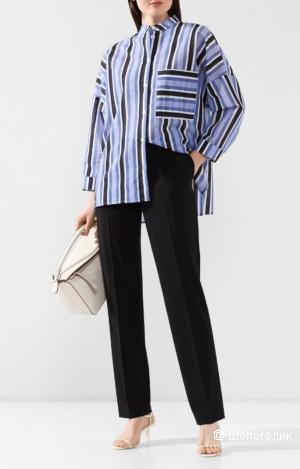 Шерстяные брюки hugo boss, размер 46