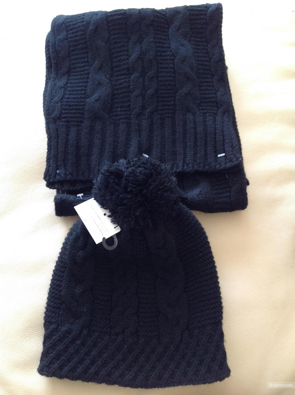 Комплект шапка и шарф Daniele Patrici, размер 55-60