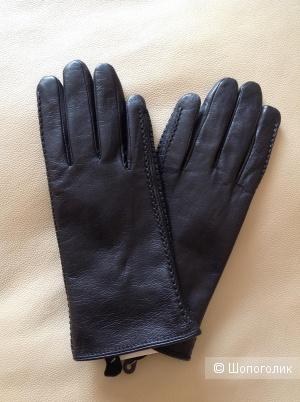 Кожаные перчатки, размер M, 7-7,5