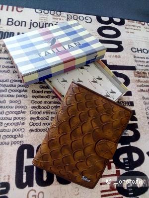 Мужской кошелек-портмоне из натуральной кожи Tailian, one size