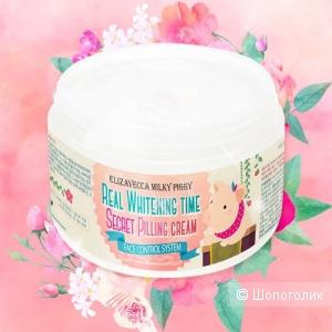 Пилинг-крем с AHA и BHA кислотами Elizavecca Whitening Time Secret Peeling Cream