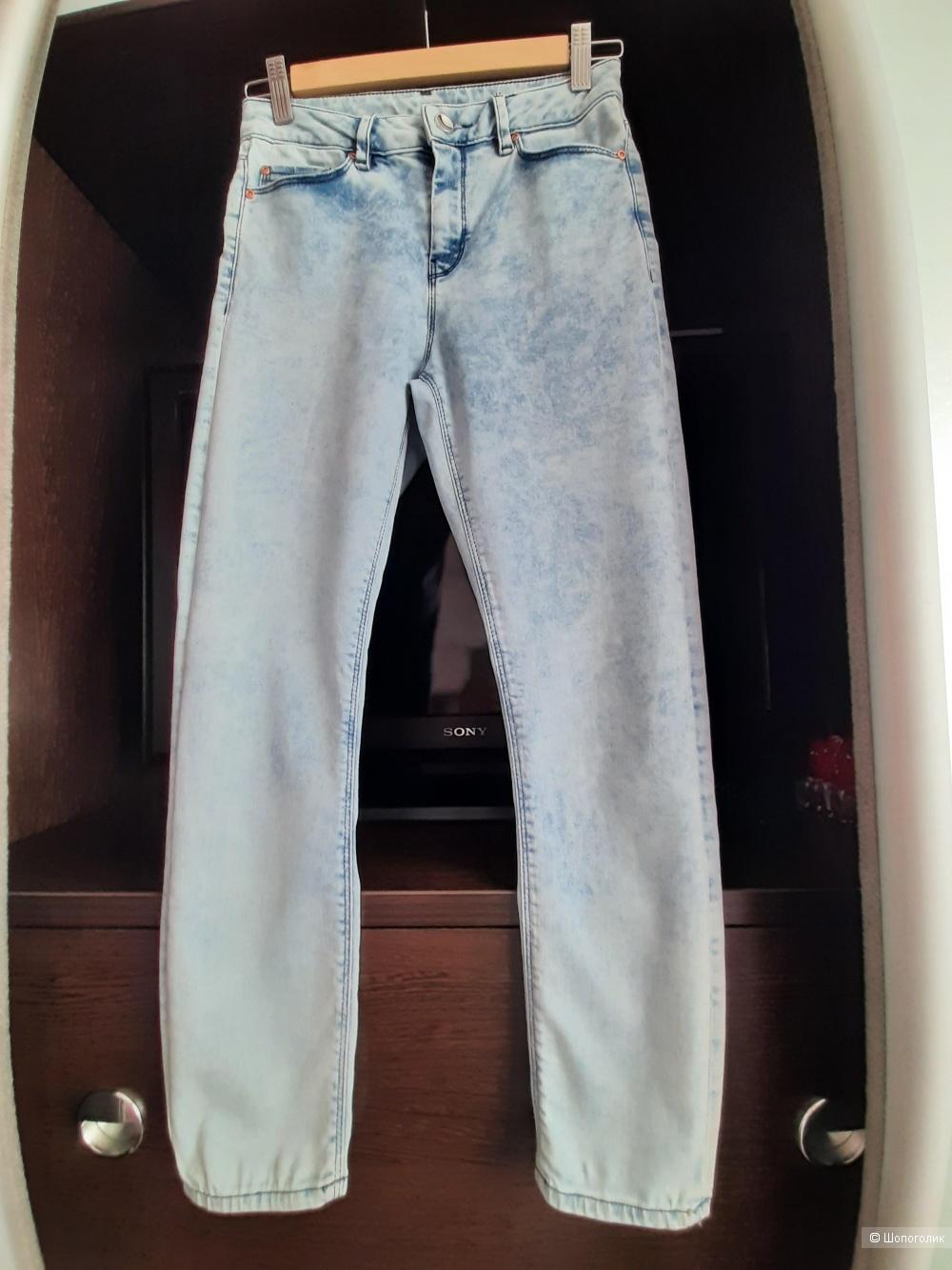 Укороченные облегающие джинсы ASOS PETITE Ridley, W26 L28