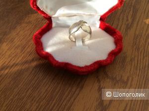Серебряное кольцо- чалма