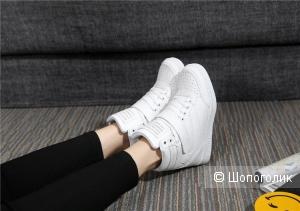Высокие кроссовки , 37,5 размер, No name