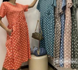 Платье Polka dot midi Italia, 46-52