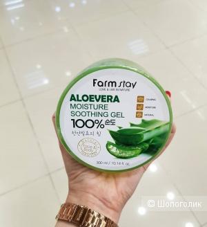 Многофункциональный смягчающий гель с экстрактом алоэ FarmStay Aloe Vera Moisture Soothing Gel