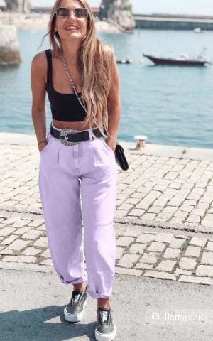Джинсы слоучи Colour pastel jeans, 42-50