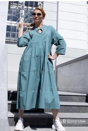 Платье ярусы VESTITO DI COTONE, 44-54