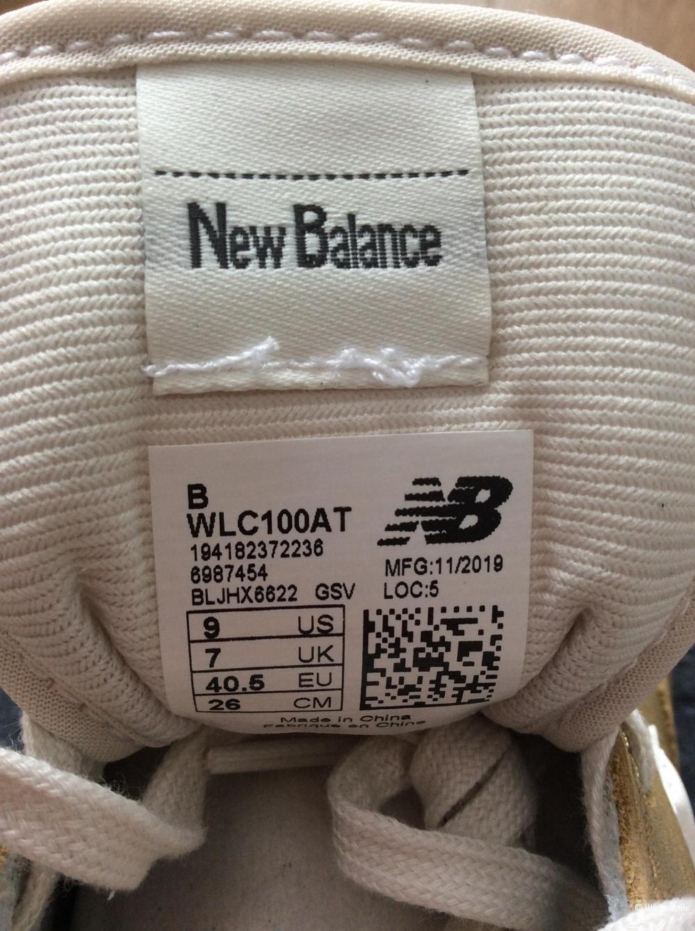 Кроссовки NewBalance р.9 (на стопу 25,5-26 см)
