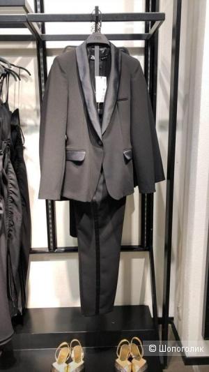 Пиджак- смокинг ZARA, размер М